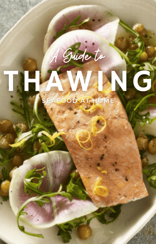 Guide to thawing seafood